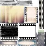 Film borders — Stock Photo