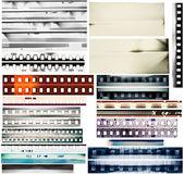 Bordi della pellicola — Foto Stock