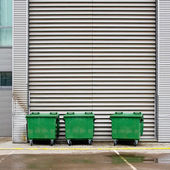 Dumpsters — Stock Photo