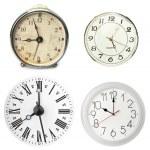 Various clocks — Stock Photo