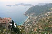 山坡上的尼斯法国 — 图库照片