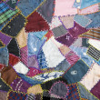 Patchwork quilt - Stock Photo