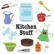 Kitchen stuff - Stock Vector