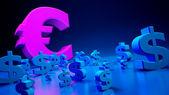 Exchange rates — Stock Photo