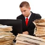 człowiek ciężkiej pracy — Zdjęcie stockowe #4012008