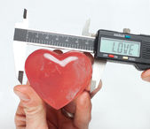 Can love be measured? — Stock Photo
