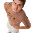 Attractive young casual guy — Stock Photo #4451545