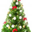 Elegant Christmas tree — Stock Photo