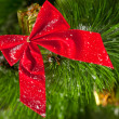 Green branches of a Christmas tree — Stock Photo #5112225