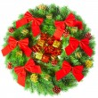 Christmas wreath — Stock fotografie #5112238