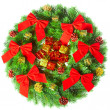 图库照片: Christmas wreath