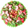 Christmas wreath — Stock fotografie #5112278