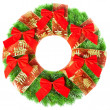 Christmas wreath — Stock fotografie #5112281