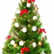 Elegant Christmas tree — Stock Photo #5112323