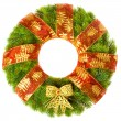 Christmas wreath — Stock fotografie #5112343