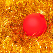 Red Christmas balls — Stock Photo #5112353