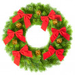 Christmas wreath — Foto Stock #5112382