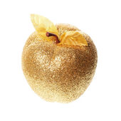 Golden apple — Stock Photo