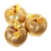 Golden apples — Stock Photo