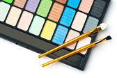Die Palette für Make-up — Stockfoto