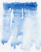 Abstract blue watercolor background — Stock Photo