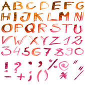 Alfabeto del color — Foto de Stock