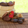 Spa setting with stones and shells — Stock Photo #4033969