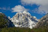 Snötäckta berg på grand teton national park, wyoming, usa — Stockfoto