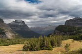Glacier National Park: Logan Pass — Stock Photo