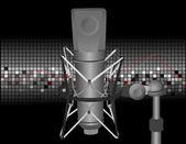 Thema van de muziek — Stockvector