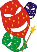Máscaras de carnaval — Vetorial Stock