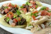 Beef& Corn Tortillas — Stockfoto