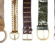 Stock Photo: Belts collection #1 | Isolated