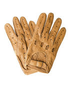 Leather sports gloves | Isolated — Stock Photo