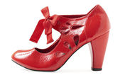 Female red shoe | Isolated — Stock Photo