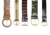 Belts collection #1 | Isolated — Stockfoto