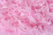 Small pink feathers in pile | Texture — Stock Photo
