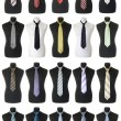 Stock Photo: Neckties collection | Isolated