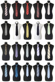 Neckties collection | Isolated — Stock Photo