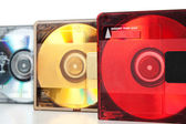Audio mini discs for music #3 — Stock Photo