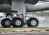 Aircraft Landing Gears — Stock Photo