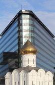 Cathedral of Saint Nicholas in Tverskaya Zastava — Stock Photo