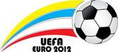 UEFA EURO 2012 — Stock Vector