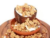 Cerealien der nuss içinde — Stok fotoğraf