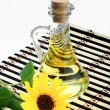 Bottle of sunflower oil — Stock Photo #4227141
