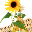 Bottle of sunflower oil — Stock Photo #4227152