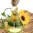 Bottle of sunflower oil — Stock Photo #4227161