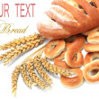 Bread and cereals — Stockfoto