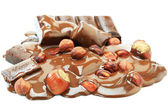 Flujo de chocolate — Foto de Stock