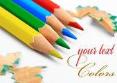 Colored Pencil. — Stock Photo